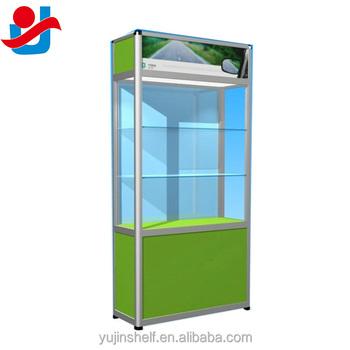 collectibles affichage en verre armoire commerciale aluminium et verre verrouillable vitrine parfum