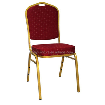 pas cher or empilable banquet chaise rembourree pour l eglise utilise mariage eglise chaises