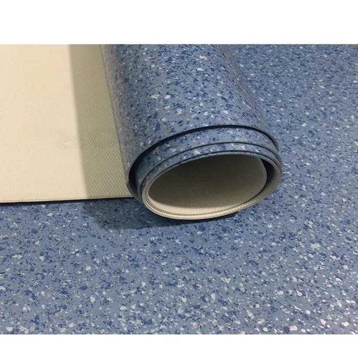 heterogene feuille de haute qualite 2mm pas cher uv revetement de sol en vinyle rouleau rouleaux de sol en linoleum pvc garage plancher de rouleau