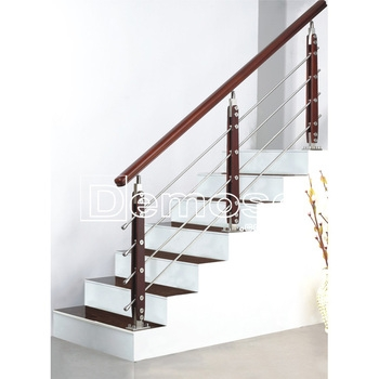 Ornamental Staircase Steel Wood Stair Handrail Designs Buy Steel   Wood And Steel Handrail   Wood Framed   Interior   Round   Rustic   Glass