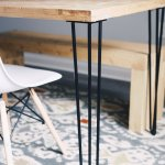 Buy Industrial By Design 28 Hairpin Table Legs Satin