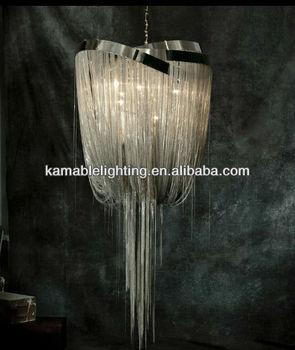 Modern Metal Chandelier Hanging Chain Lamp Ka1091