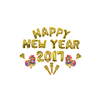 Wholesale Gold Foil Happy New Years Eve Balloons For ...