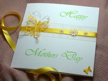 Madame Butterfly Handmade Mothers Day Card - Buy Mothers ...