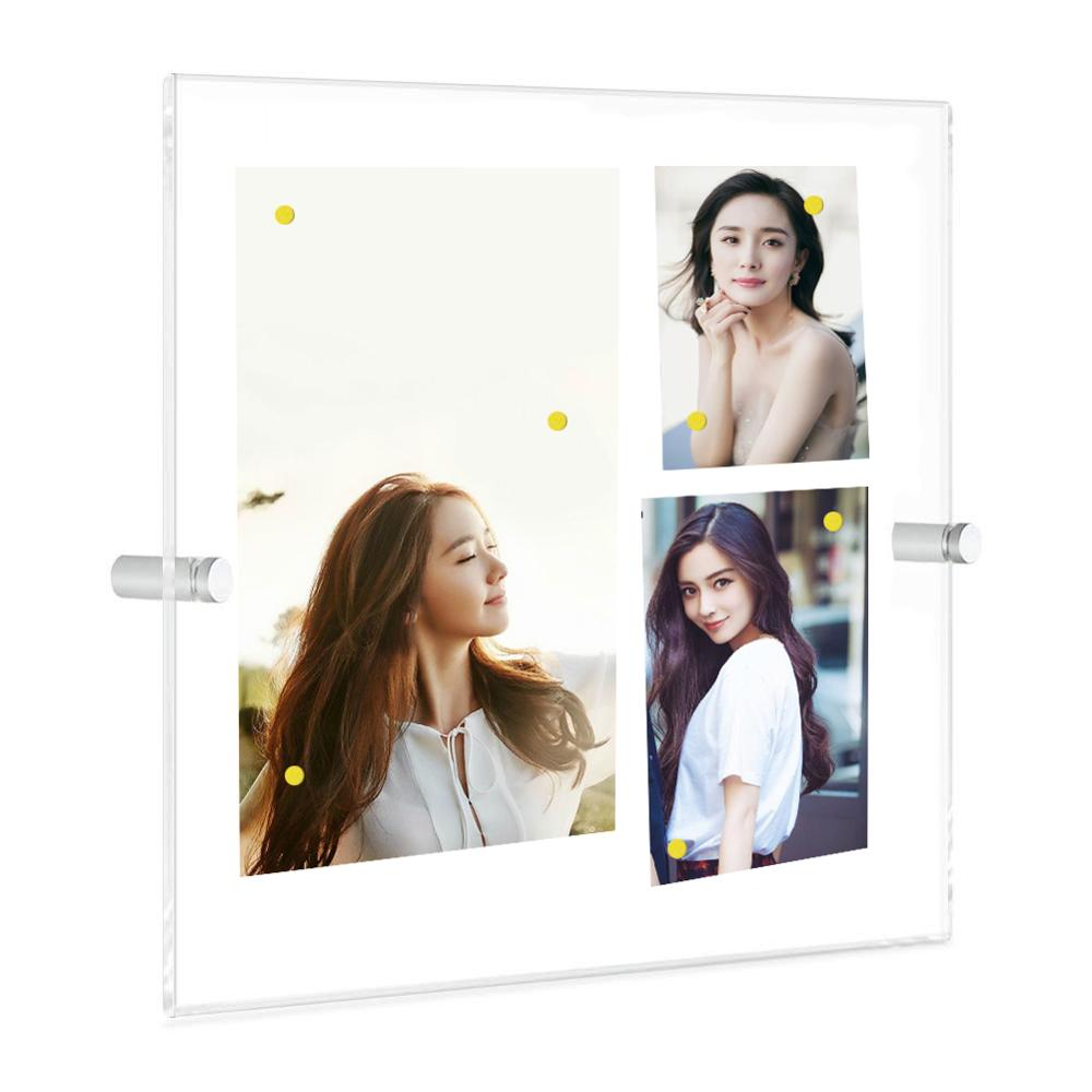 12x17 inch acrylic display magnetic frame with single panel buy wall decoration frames a0 poster frame a1 poster frame picture frames for home decor