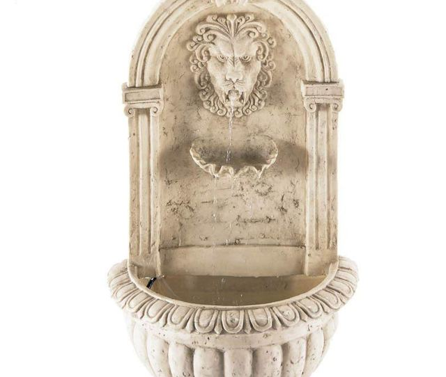 Get Quotations  C B Pond Fountain Courtyard Designers Large Lion Heads Wall Outdoor Garden Fountains