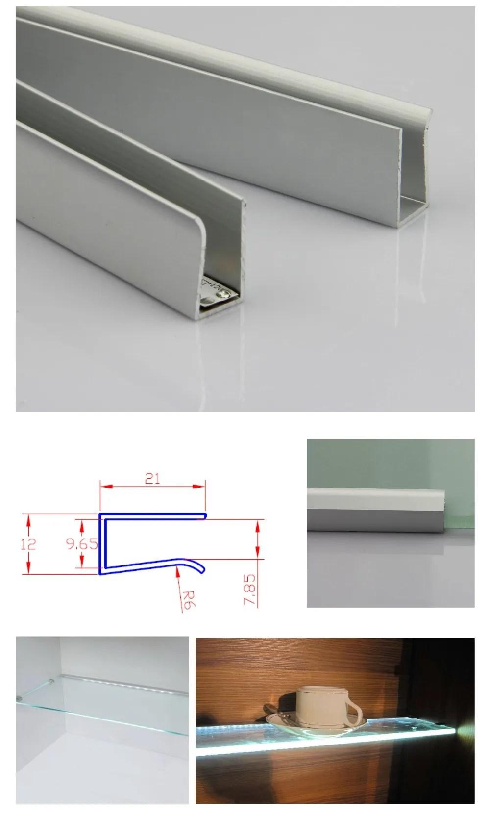 lighting profile led aluminum profile for 8mm glass edge buy led aluminum profile lighting profile led aluminum profile for 8mm glass edge lighting
