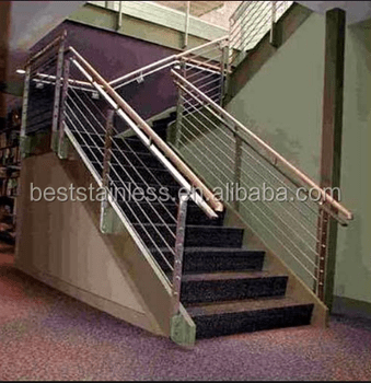 Chinese Popular Stainless Steel Balcony Railing Designs Outdoor | Steel Handrails For Steps | Baluster | Aluminum | Steel Tube | Price | Designing