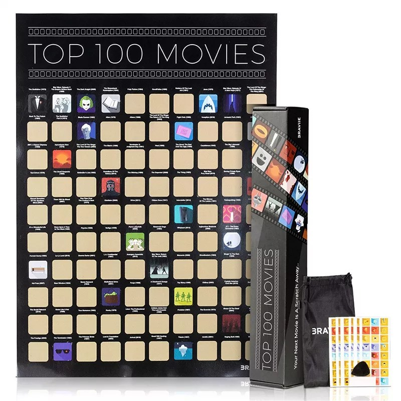 top 100 movies poster
