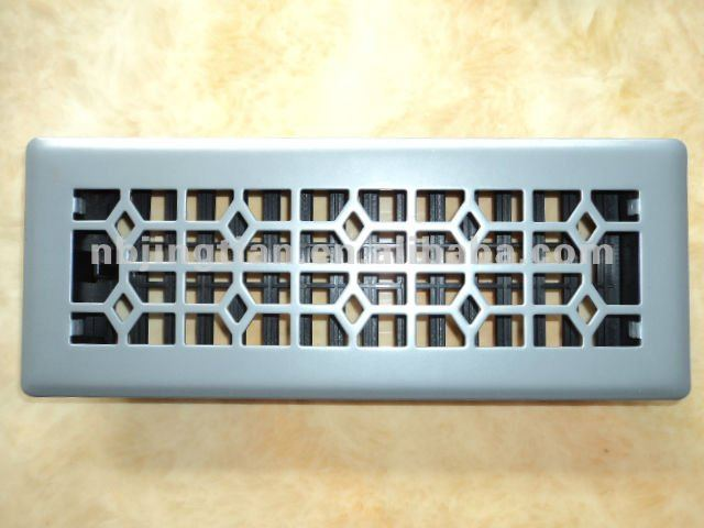 6 In X 12 Cast Iron Steel Scroll Cold Air Return Grille Decor Grates