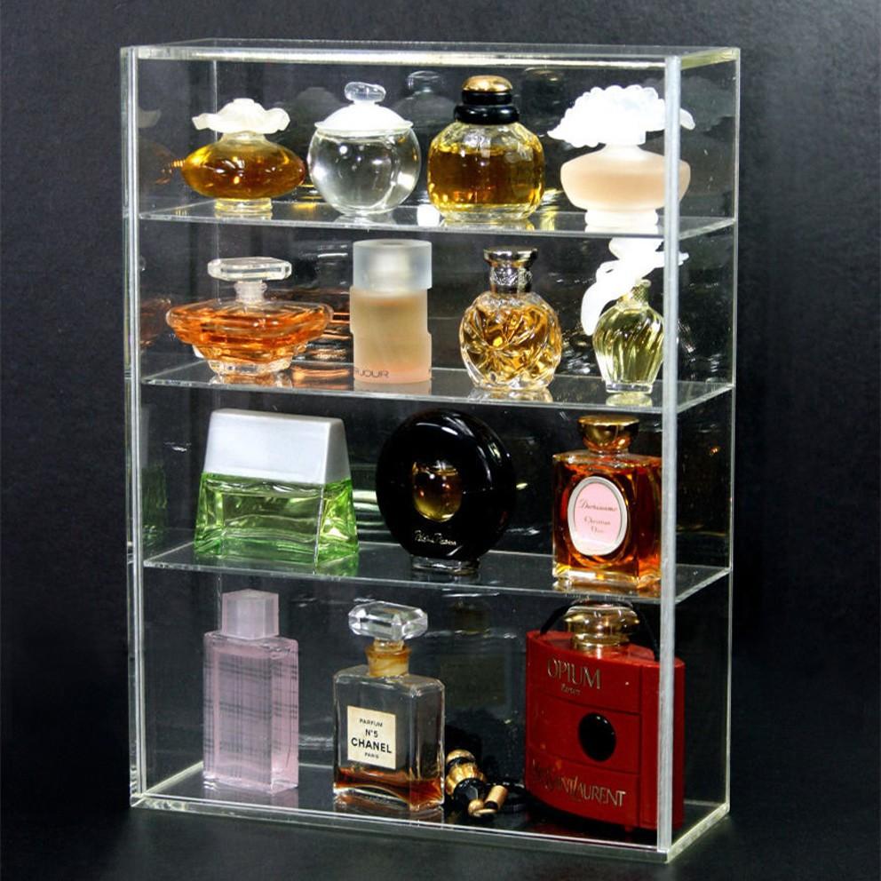 presentoir a parfum en acrylique transparent etagere presentation presentoir pour parfums perspex vente en gros buy support acrylique clair de