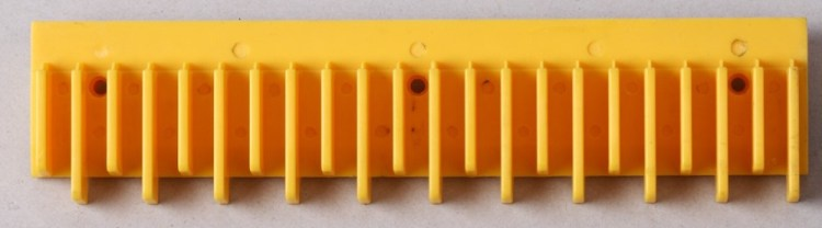 Toshiba Escalator Cost Part,Plastic Step Demarcation Border