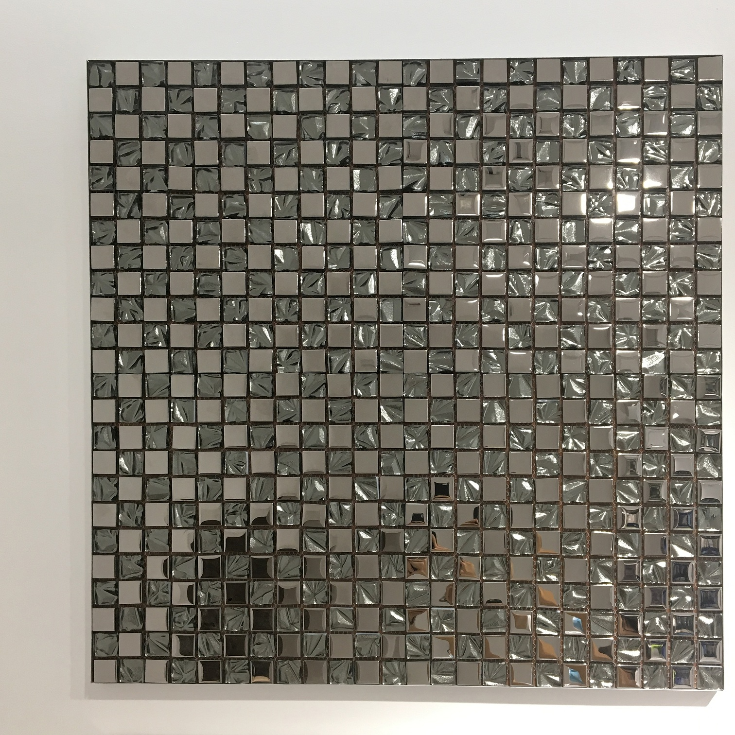 foshan tile whole sale supplier 6mm silver glass mosaic bathroom wall background decoration mosaic tile buy mosaic tile decoration tile glass mosaic