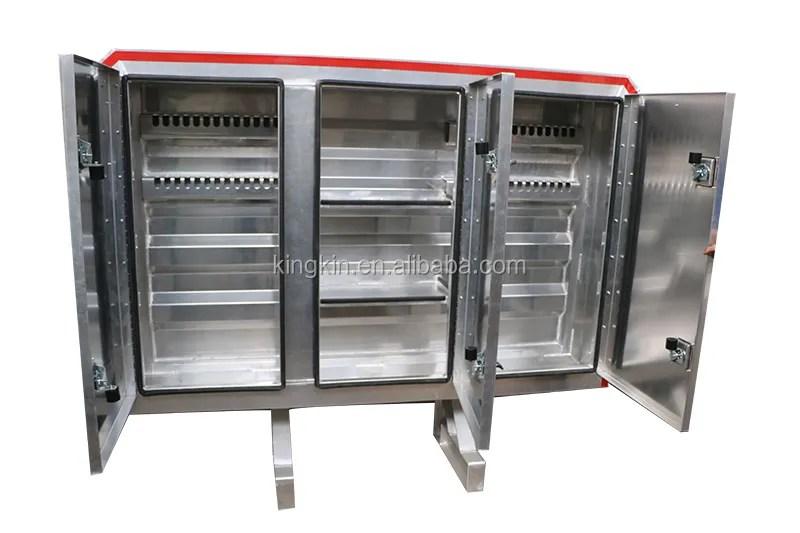 3 door enclosed aluminium cab rack head