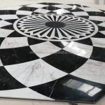 Modern Design Black And White Marble Inlay Waterjet Entrance Floor Medallion Patterns Price Buy Floor Medallion Marble Inlay Flooring Design Marble Waterjet Floor Medallion Product On Alibaba Com