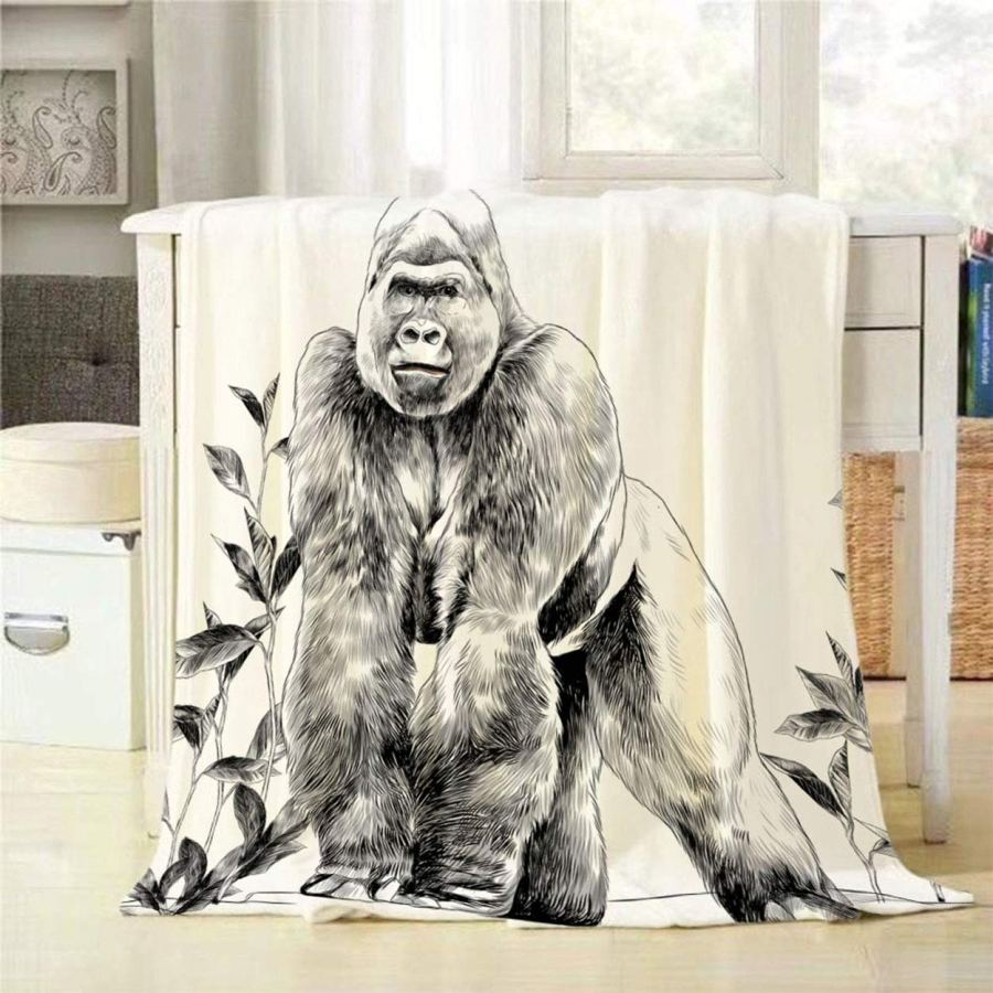 Custom Printing Travel and Beach Flannel Fleece Throw Moving Blanket for Winter