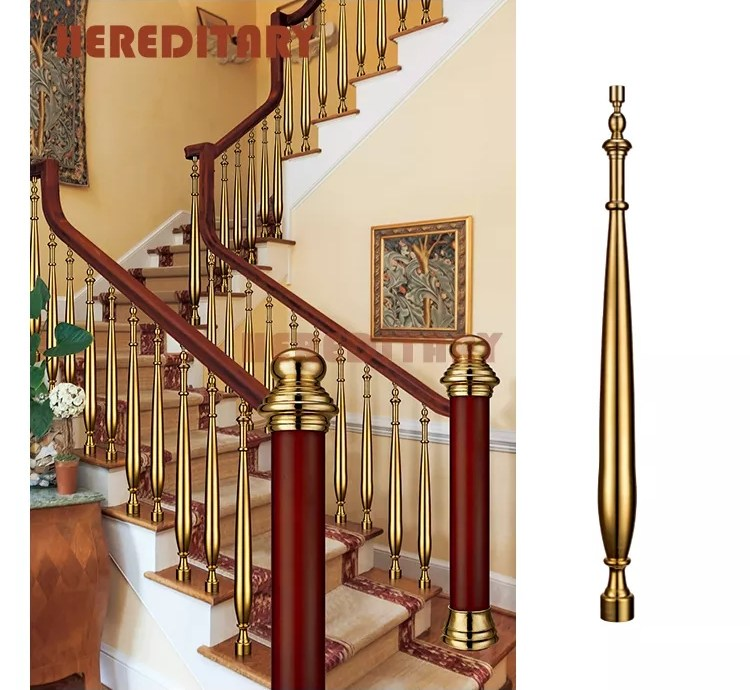Fancy Stair Railing Brass Handrails For Outdoor Steps Buy Brass | Handrails For Outdoor Steps | Plastic | Galvanized Steel | Solid Wood | Rail | Simple