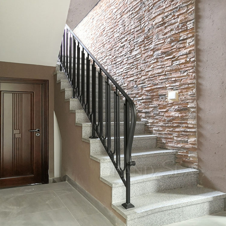 Simple French Indoor Wrought Iron Stair Railing Grill Design | Iron Stairs Design Indoor | Stainless Steel | Stair Treads | Stair Railings | Spiral Stairs | Steel