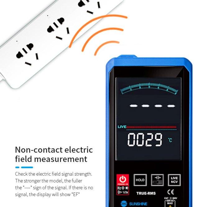 SUNSHINE DT-20N mini touch multimeter for mobile phone repair