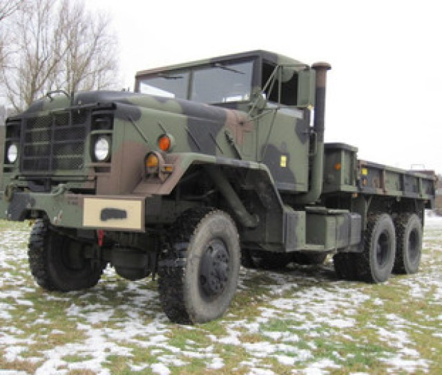 Am General Reo M923 Military Truck Cargo 6x6 Us Army