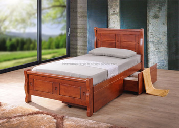 Single BedStorage Box BedBedroom FurnitureHome FurnitureWooden BedMalaysia Furniture Buy