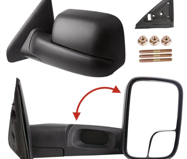 Get Quotations  C2 B7 Dodge Towing Mirrors For 02 08 Dodge Ram  Ram 2500 3500