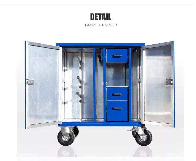 portable mobile steel tack trunk double door saddle tack locker case buy tack locker saddle locker tack trunk product on alibaba com