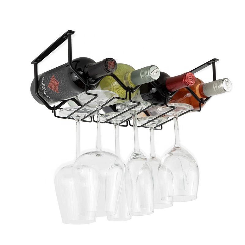 wine glasses holder kitchen organization metal black wall mount hanging wine rack buy metal wine glass rack under cabinet wine glass holder wine