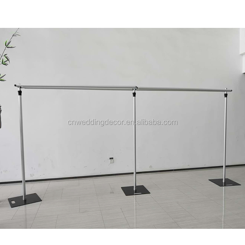 rideau droit portable d arriere plan support metallique pour decoration de scene de 3 10 pieds ou 20 pieds buy mariage toile de fond en