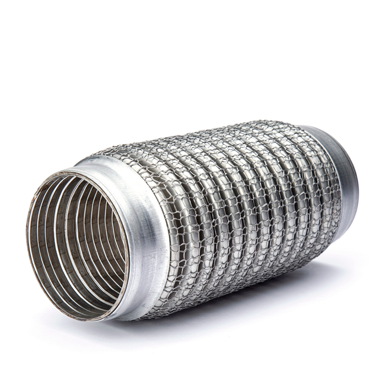 2 inch stainless steel braided exhaust flexible pipe buy flexible pipe muffler pipe flex pipe for exhaust system product on alibaba com