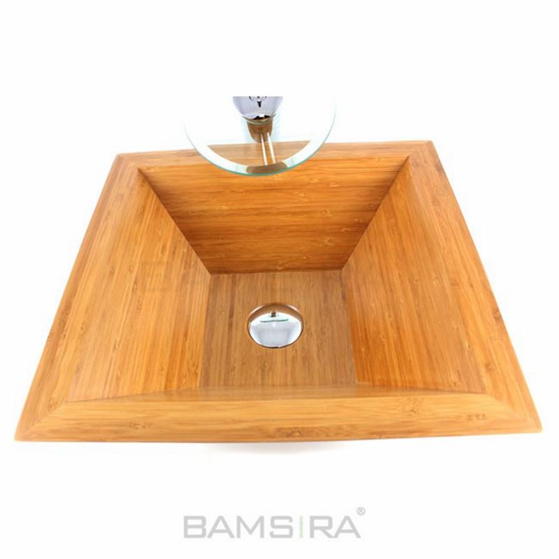 wholesales custom bamboo wooden toilet sink wash hand basin buy sink washbasin farmhouse sink product on alibaba com
