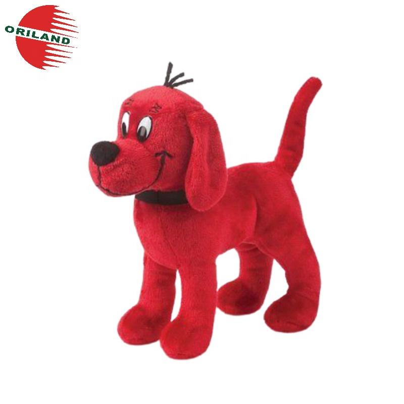 jouet en peluche animal en peluche chien rouge chiot prix bas 20 cm buy chien en peluche jouet en peluche animal en peluche product on alibaba com