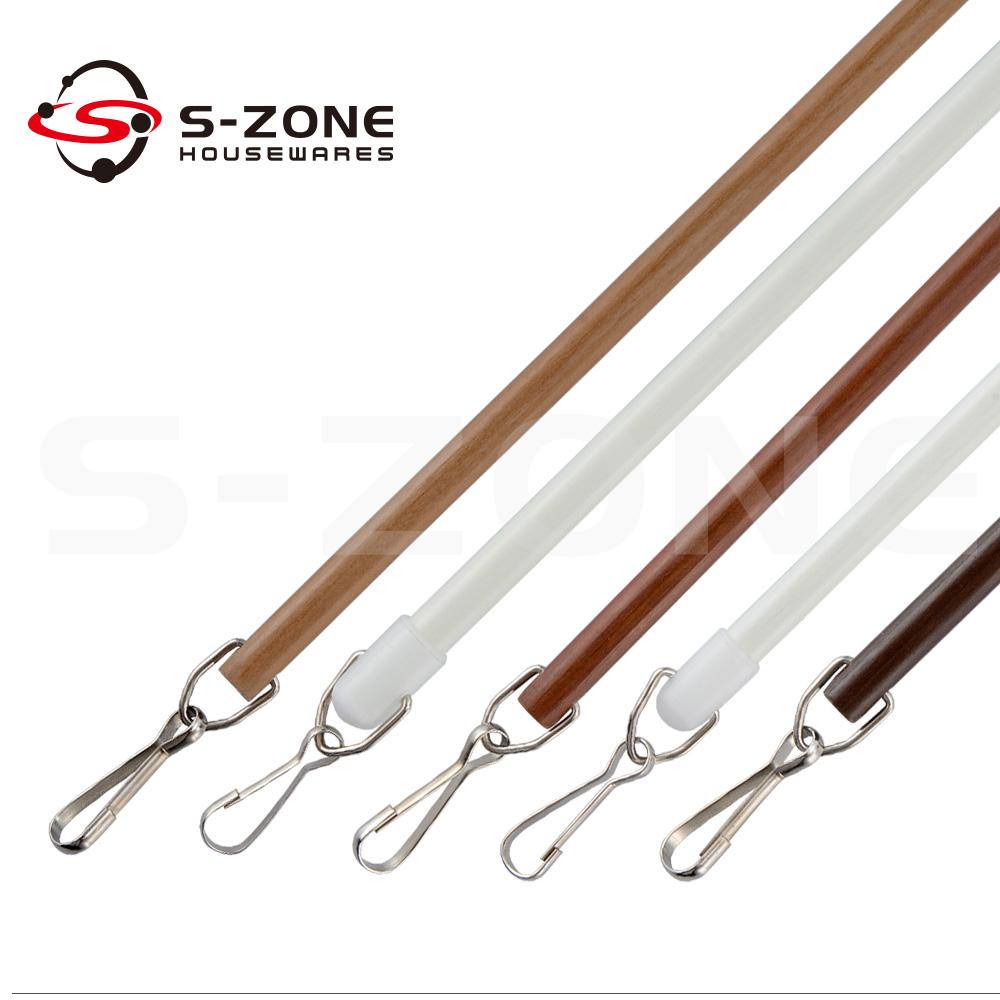 szone 10mm pull fiberglass curtain wand rod with handle buy fiberglass curtain wand rod plastic curtain pull wand plastic wand handle product on alibaba com