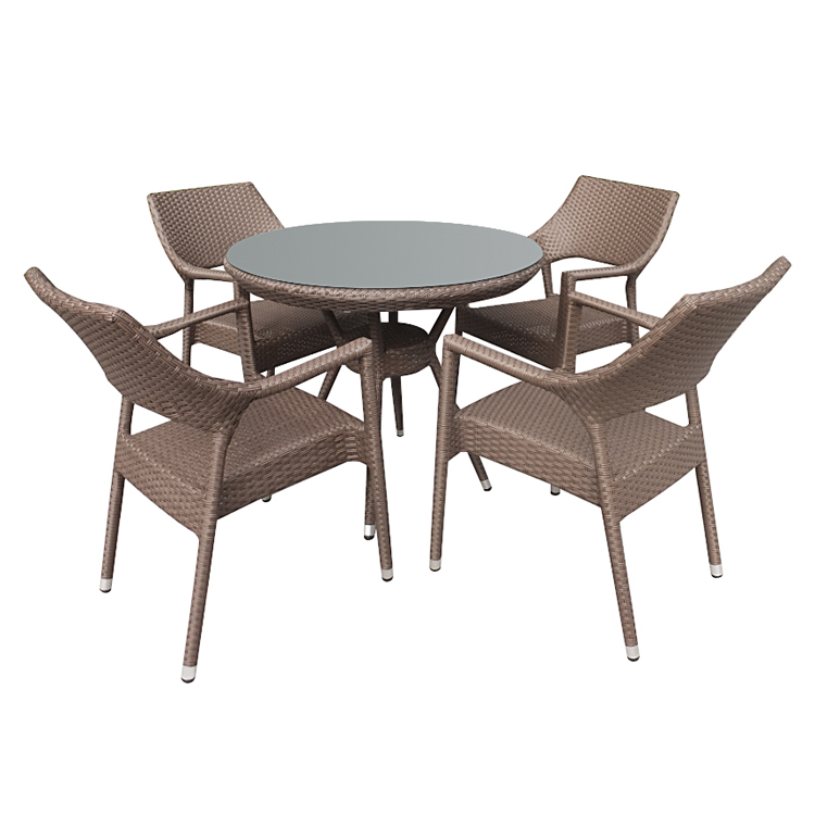 cheap price outdoor furniture 4 seat patio restaurant bistro rattan table chairs buy restaurant table chairs chairs and tables restaurant tables