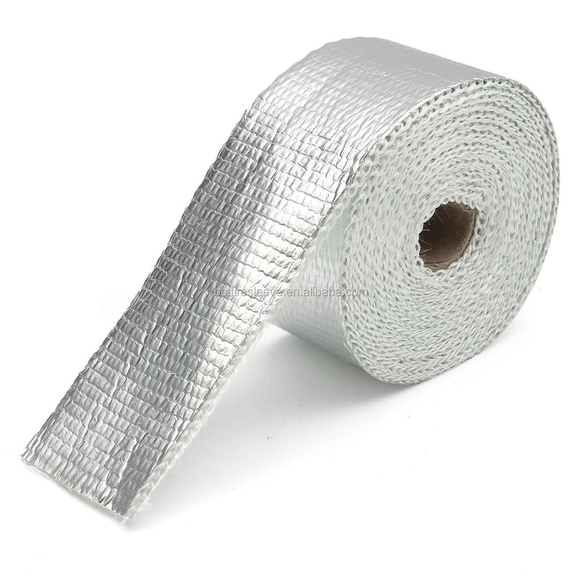 aluminum foil fiberglass heat shield exhaust heat wrap buy exhaust heat wrap heat shield wrap aluminum foil fiberglass wrap product on alibaba com