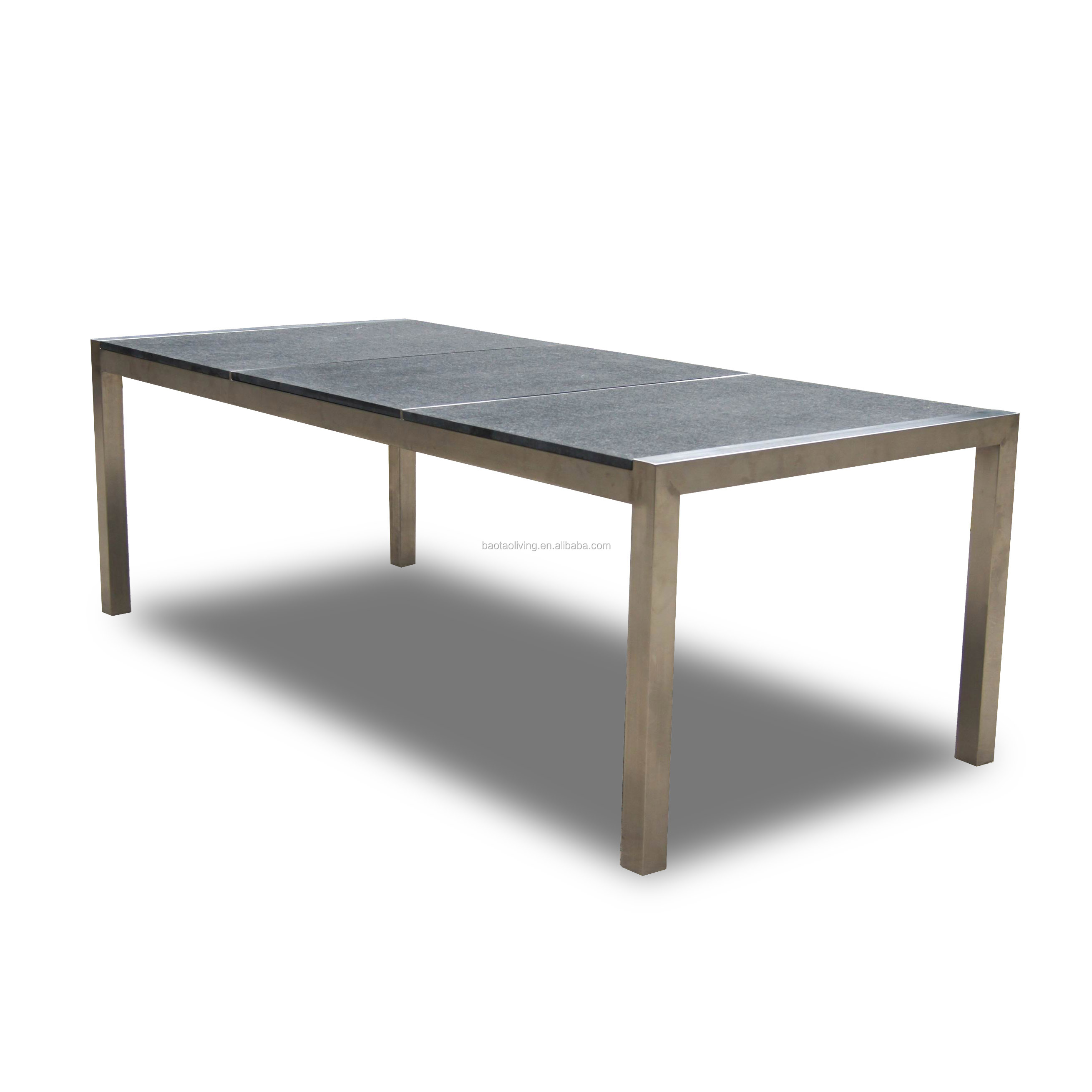 patio furniture granite stone modern outdoor stainless steel dining table buy dining table stainless steel table dining stainless table product on