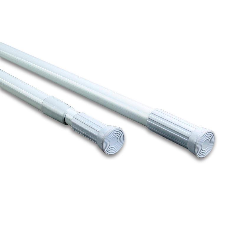 adjustable metal steel shower 110 200 cm tension shower curtain rod for bathroom buy adjustable spring tension rod shower curtain rod curtain rod