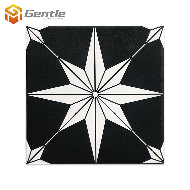 200 x 200mm black white ceramic pattern porcelain tile for kitchen floor and wall buy pattern porcelain tile black white pattern tile kitchen wall