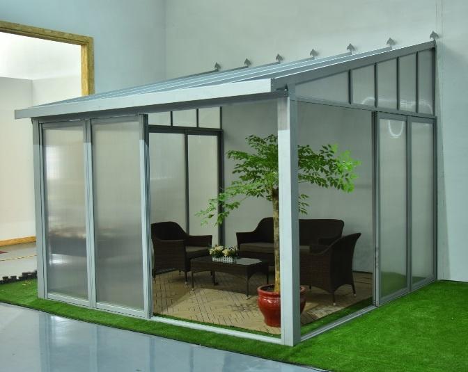 closed patio cover sunroom buy sunroom closed patio cover glass house product on alibaba com