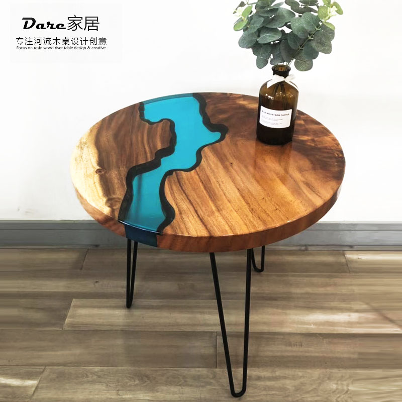walnut high end special design solid wood slab coffee round epoxy resin table top buy epoxy resin table top table top epoxy resin epoxy table top