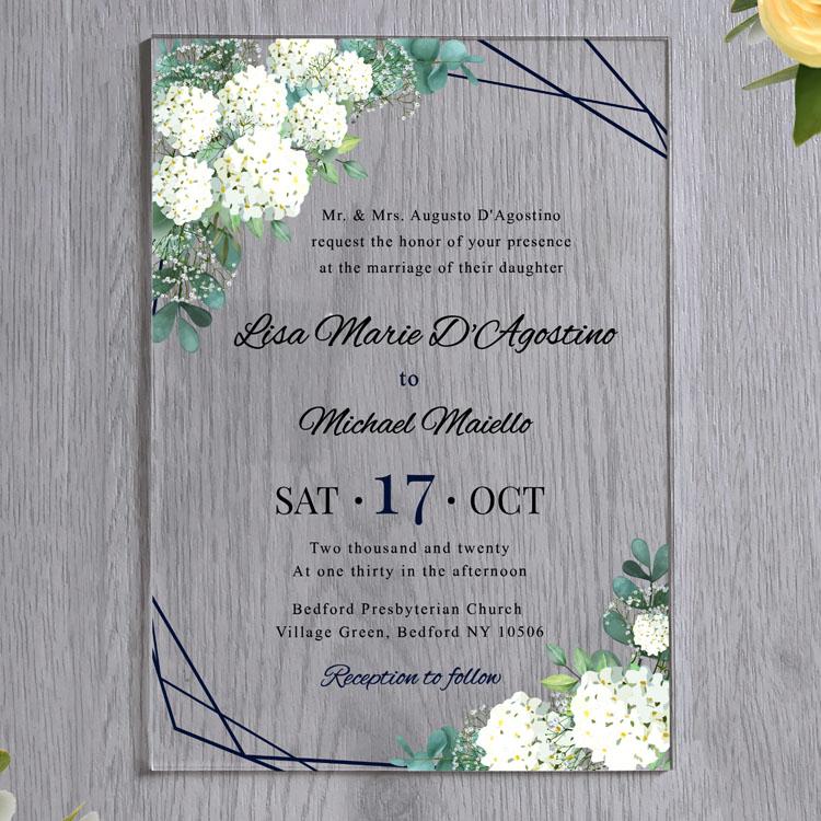 customized luxury clear blank barat bengali baptism conference acrylic invitation card buy laser cut 3d baby 1st birthday acrylic wedding