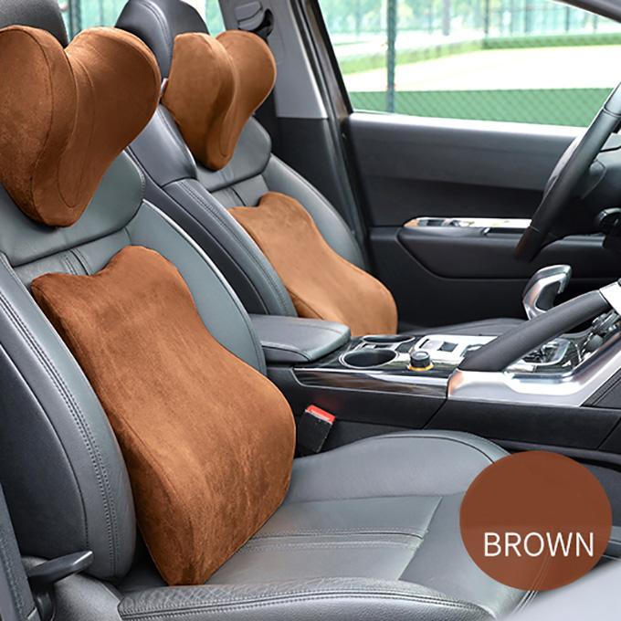 car interior accessories comfortable memory foam head lumbar support pillow cushion set for rest buy memory foam pillow car interior accessories car