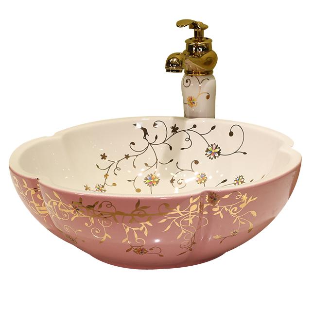 pink simple design western composite fancy bathroom sinks buy fancy bathroom sinks western bathroom sinks composite bathroom sinks product on