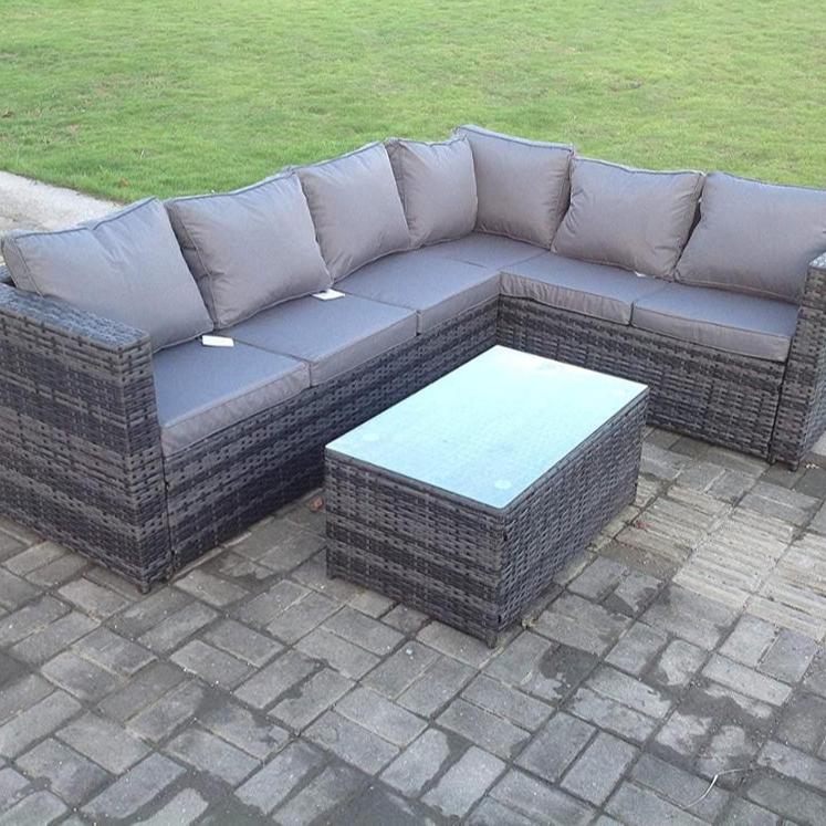 kd wicker cane sofa table sets all seasons outdoor rattan sofa set garden furniture outdoor patio set buy wicker cane sofa table sets outdoor