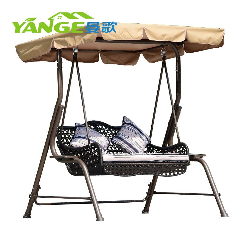 outdoor high quality garden swing beach metal patio wrought iron patio swings 2 seater swing chair canopy buy garden outdoor swing handmade iron
