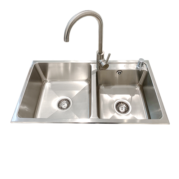 2020 high quality double bowl kitchen basin sink anti noise double sink kitchen sink buy kitchen basin sink stainless sink kitchen sink product on