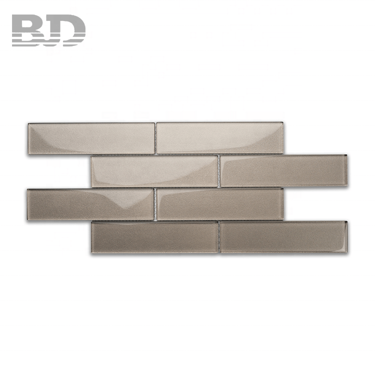 hot selling graphite hand painting glass subway tile for bathroom buy subway tile tile price bathroom product on alibaba com