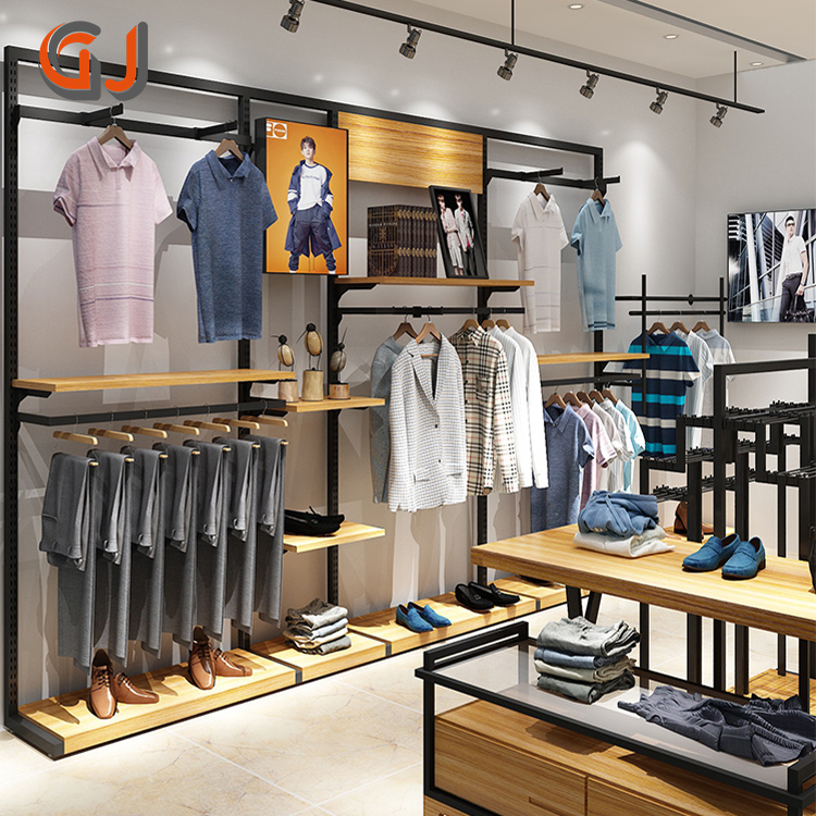 oem free standing garment rack display for clothes metal wooden adjustable clothing store furniture buy garment rack garment rack display for