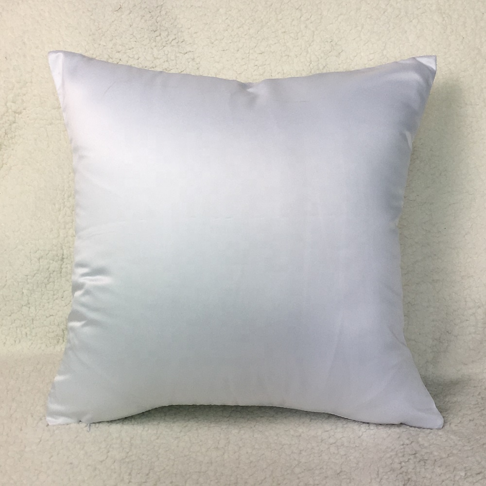 40x40 cm wholesale cheap white pillow cover blank polyester cushion cover for dye sublimation buy cheap pillow cover sublimation pillow case blank