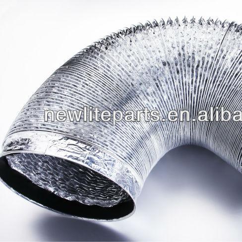 range hood cooker hood aluminum flexible air exhaust vent pipe buy range hood exhaust pipe range hood pipe ventilation hose product on alibaba com